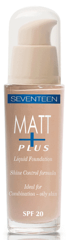 Seventeen Matt Plus Liquid Foundation SPF20